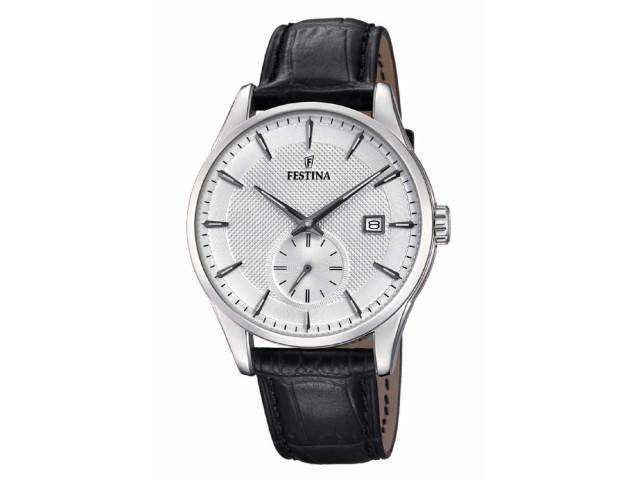 FESTINA RETRO 41 MM MEN`S WATCH F20277/1