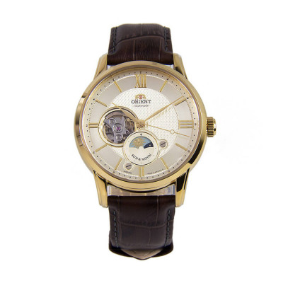 ORIENT CLASSIC AUTOMATIC OPEN HEART 42ММ MEN`S WATCH RA-AS0004S