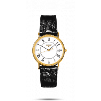 LONGINES PRESENCE QUARTZ  33MM LADIES WATCH L4.819.2.11.2