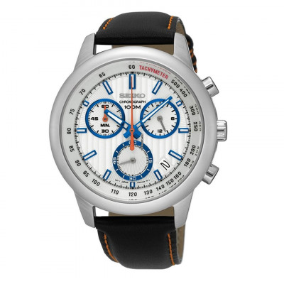 SEIKO SPORT CHRONOGRAPH QUARTZ 42MM MEN'S WATCH SSB209P1