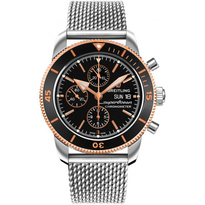 BREITLING SUPEROCEAN HERITAGE CHRONOGRAPH 44 MEN'S WATCH U13313121B1A1