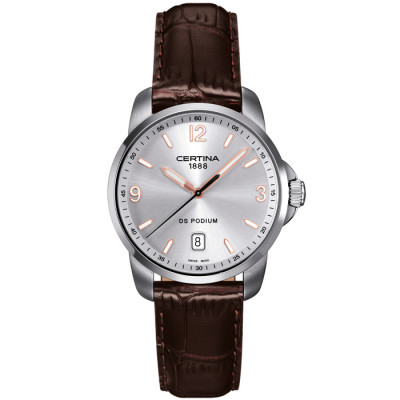 CERTINA DS PODIUM 38MM  QUARTZ MEN'S WATCH C001.410.16.037.01