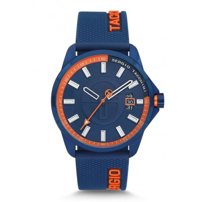 SERGIO TACCHINI STREAMLINE 46MM MEN`S WATCH ST.9.113.01