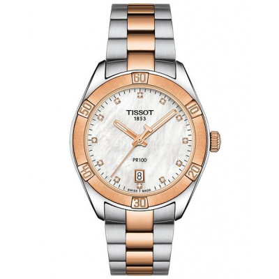 TISSOT PR 100 36ММ LADIES WATCH  T101.910.22.116.00