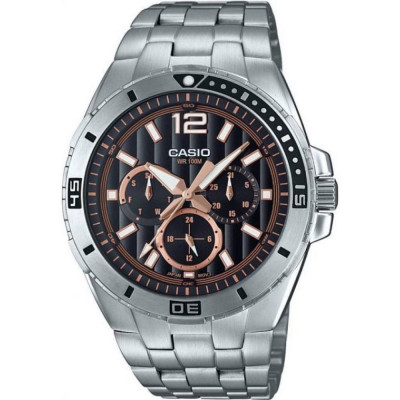 CASIO COLLECTION 45MM MEN'S WATCH MTD-1060D-1A3V