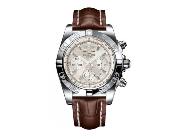 BREITLING CHRONOMAT AUTOMATIC 44MM MEN'S WATCH  AB011011/G684/738P