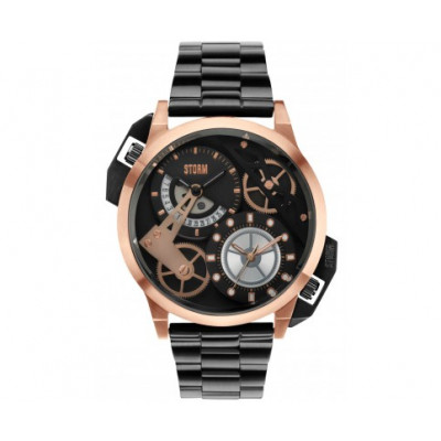 STORM LONDON DUALON ROSE GOLD 52.5 MM MEN'S WATCH      47135RG
