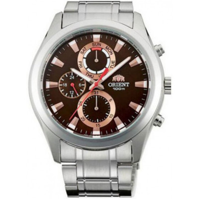 ORIENT SPORTY CHRONOGRAPH 44 MM MEN'S WATCH FUY07002T