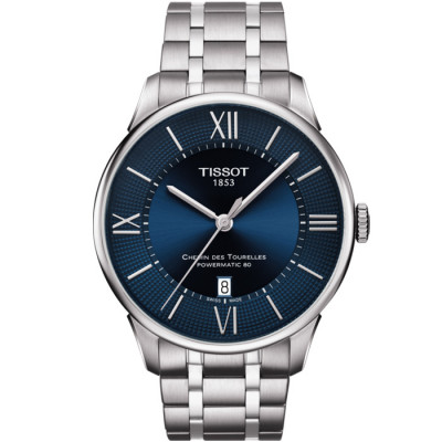 TISSOT CHEMIN DES TOURELLES POWERMATIC 80 42MM MEN'S WATCH 099.407.11.048.00