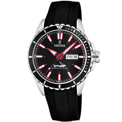 FESTINA DIVER 44.5MM MEN'S WATCH  F20378/2