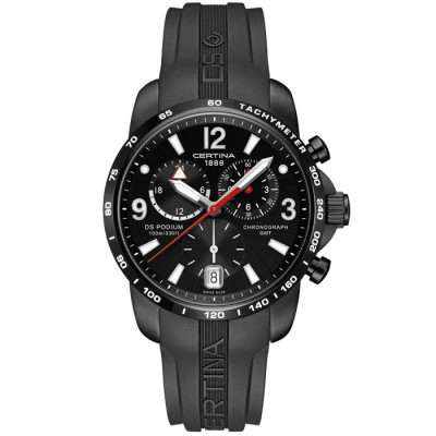 CERTINA DS PODIUM CHRONO GMT 42MM MEN'S WATCH C001.639.17.057.00