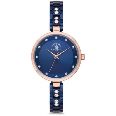 SANTA BARBARA POLO & RACQUET CLUB UNIQUE 32MM LADIES WATCH SB.3.1147.4