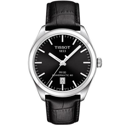 TISSOT PR 100 POWERMATIC80 39MM MEN'S WATCH T101.407.16.051.00