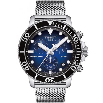 TISSOT SEASTAR 45.5MM MEN'S WATCH  T120.417.11.041.02