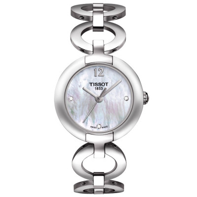 TISSOT PINK BY TISSOT DIAMONDS 27.95MM LADIES WATCH T084.210.11.116.01