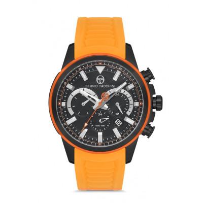 SERGIO TACCHINI DUAL TIME 45MM MEN`S WATCH ST.1.10128-6