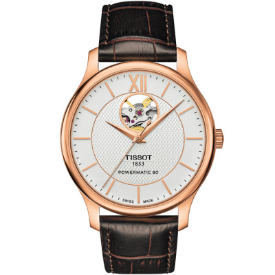 TISSOT TRADITION POWERMATIC 80 40MM MEN'S WATCH T063.907.36.038.00