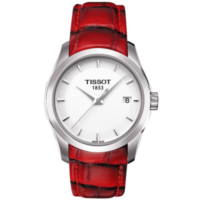 TISSOT COUTURIER QUARTZ 32MM  LADIES WATCH  T035.210.16.011.01