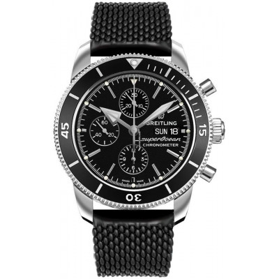 BREITLING SUPEROCEAN HERITAGE CHRONOGRAPH  44 MEN'S WATCH A13313121B1S1