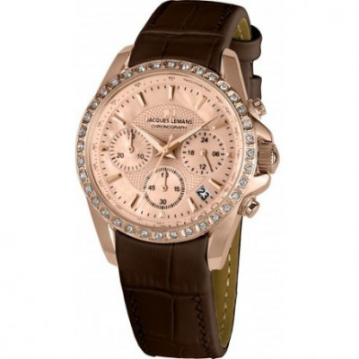 JACQUES LEMANS  SPORT 35MM LADY 1-1724C