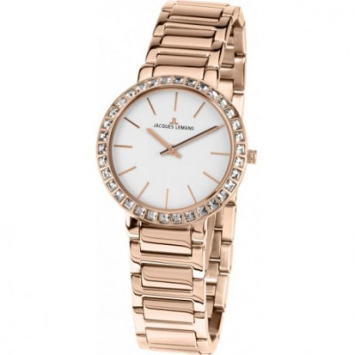 JASQUES LEMANS LA PASSION MILANO 32 MM LADY 1-1843C