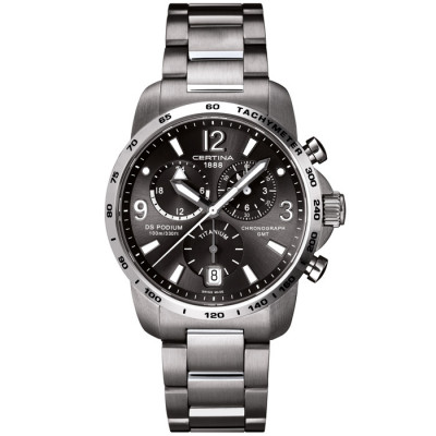 CERTINA DS PODIUM CHRONO GMT 42MM MEN'S WATCH C001.639.44.087.00