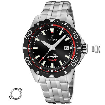 FESTINA DIVER 45MM MENS WATCH F20461/2
