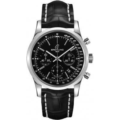 BREITLING TRANSOCEAN CHRONOGRAPH AUTOMATIC 43MM MEN'S WATCH   AB015212/BA99/743P