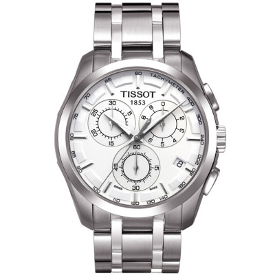 TISSOT COUTURIER QUARTZ CHRONOGRAPH 41MM MEN'S WATCH  T035.617.11.031.00