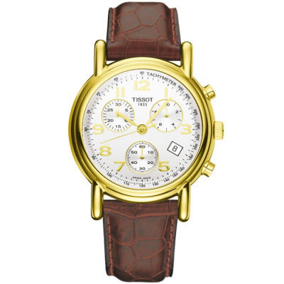 TISSOT T-GOLD CARSON QUARTZ 39.62MM MEN'S WATCH T71.3.442.32