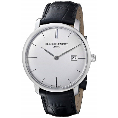 FREDERIQUE CONSTANT SLIMLINE 40MM MEN'S SILVER DIAL AUTOMATIC WATCH FC-306S4S6