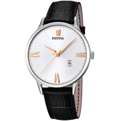 FESTINA  RETRO 42MM MEN`S WATCH  F16824/2