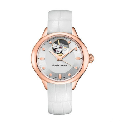 CLAUDE BERNARD DRESS CODE OPEN HEART 36MM LADIES' WATCH 85027 37R AIR