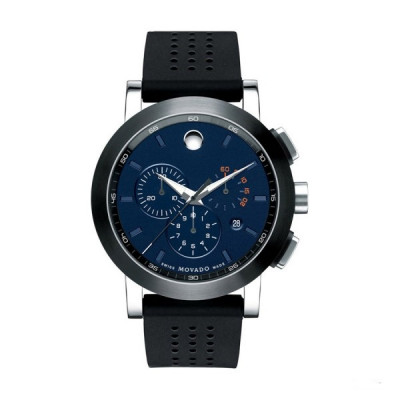 MOVADO MUSEUM SPORT CHRONOGRAPH QUARTZ 44MM MEN'S WATCH 607002