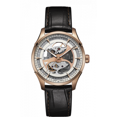 HAMILTON JAZZMASTER VIEWMATIC SKELETON AUTO  40MM MEN'S H42545551
