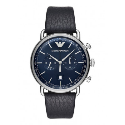 EMPORIO ARMANI AVIATOR 43MM MEN'S WATCH AR11105