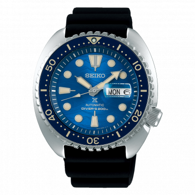 SEIKO PROSPEX KING TURTLE  SAVE THE OCEAN AUTOMATIC DIVER 45MM MEN'S WATCH  SRPE07K1