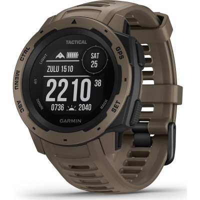 GARMIN INSTINCT™ TACTICAL EDITION COYOTE TAN 45MM 010-02064-71