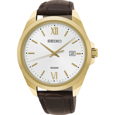 SEIKO CLASSIC 42MM MEN'S WATCH SUR284P1