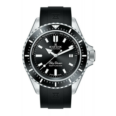 EDOX SKYDIVER NEPTUNIAN EDITION AUTOMATIC 44MM MEN'S 80120 3NCA NIN
