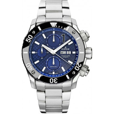 EDOX CLASS-1 AUTOMATIC CHRONOGRAPH 45MM MEN'S WATCH 01115-3-BUIN