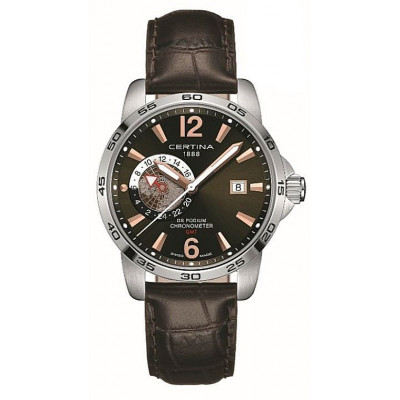 CERTINA DS PODIUM GMT 41MM MEN'S WATCH C034.455.16.087.01