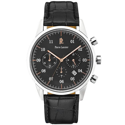 PIERRE LANNIER WEEK-END VINTAGE 42MM MEN'S WATCH 223D183