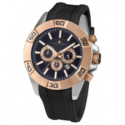 JACQUES LEMANS LIVERPOOL 49MM MEN`S 1-1808C