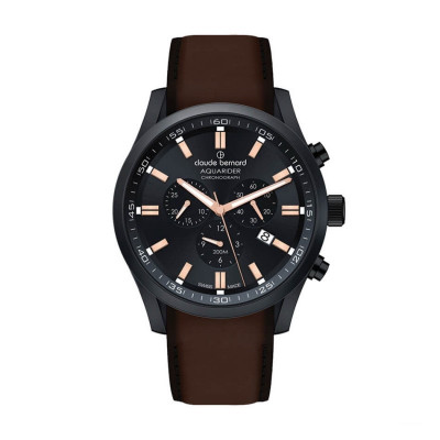 CLAUDE BERNARD AQUARIDER CHRONO 44MM MEN'S WATCH 10222 37NC NIR