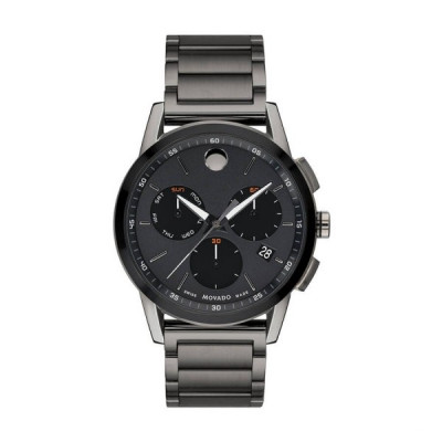 MOVADO MUSEUM SPORT QUARTZ 44MM MEN'S WATCH 607291