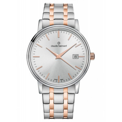 CLAUDE BERNARD CLASSIC GENTS  39 MM. MAN'S WATCH 53007 357RM AIR