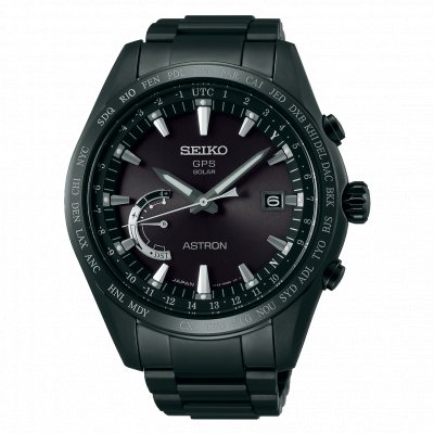 SEIKO ASTRON TITANIUM GPS SOLAR WORLD TIME 45MM MEN'S WATCH SSE089J1