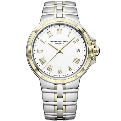 RAYMOND WEIL PARSIFAL QUARTZ 41MM MEN'S WATCH 5580-STP-00308