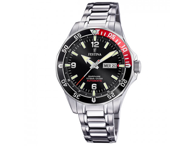 FESTINA DIVER 44MM MEN`S WATCH  F20478/5